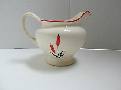 Original Vintage Universal Potteries for Sears Cattail CAT TAIL Creamer USA