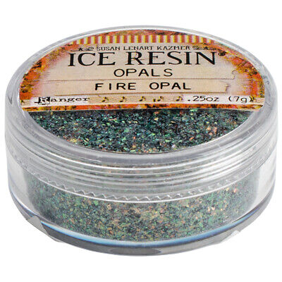 Iced Enamels Inclusions Mica .5oz-Fire Opal