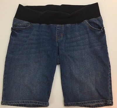 Maternity Liz Lange Size Medium Denim Shorts