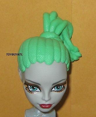 Monster High Create a Gorgon Girl CAM Plastic Hair Medusa Doll Wig Loose NEW