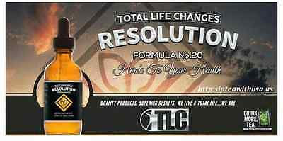 TLC Resolution Drops *Lose weight FAST!*Lasts 6-8 weeks +1 week of IASO Tea FREE