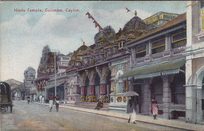Colombo Ceylon (Sri Lanka) - Hindu Temple - by Piate - Unposted