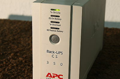 APC BK350ei - small Tower UPS - New cells - 12 Month Warranty A-Grade