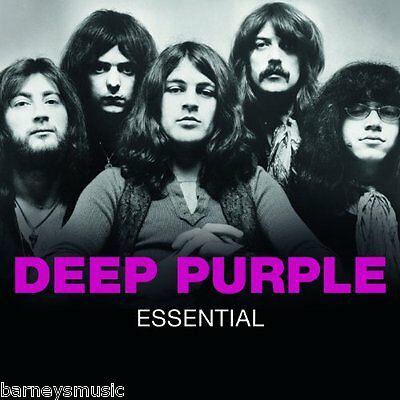 Deep Purple ( New Sealed Cd ) Essential / Greatest Hits / Very Best Of