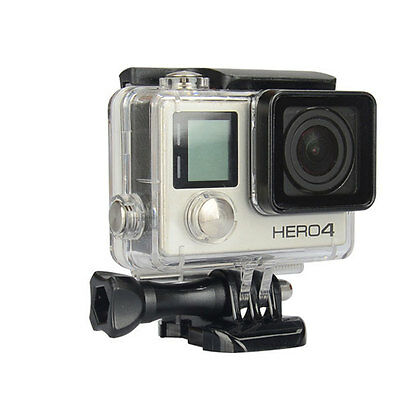Diving 45M Waterproof Housing Protective Case For GoPro Hero 3+ 4 Camera Accs