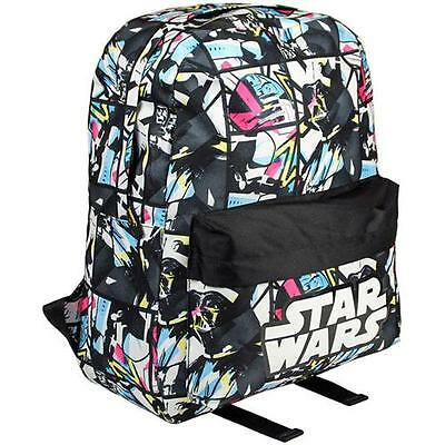 Star Wars - Colour Character Backpack / Rucksack New & Official Disney Lucasfilm