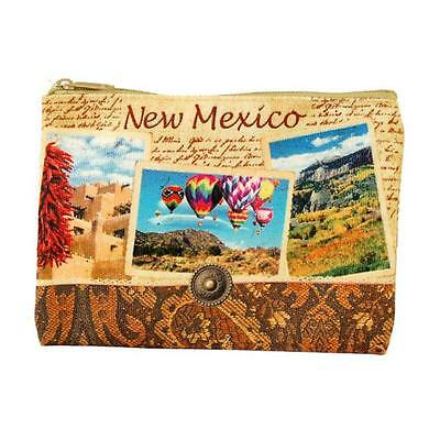 Americaware ZPNMX01 New Mexico Vintage Print Zip Pouch