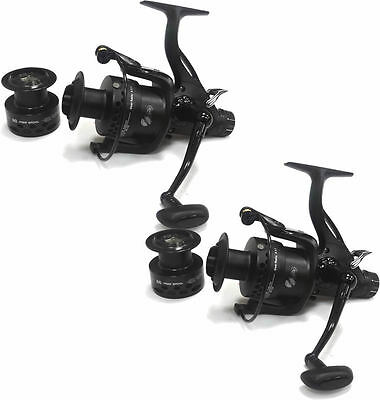 2 x Lineaeffe TS FREE ENERGY 60 Free Spool Specimen Feeder Fishing Reel 1288060