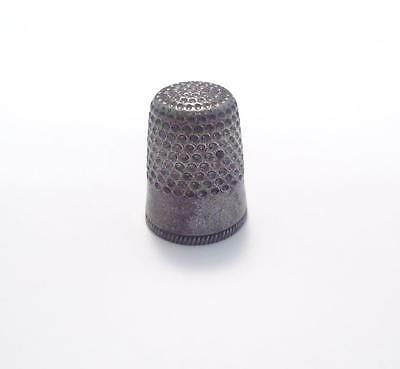 Sterling Silver Vintage Thimble ~ 2.9 grams ~ 7-B322