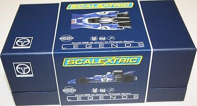Scalextric C3759A Legends Tyrrell 002 - Francois Cevert USA Grand Prix 1971  NEW