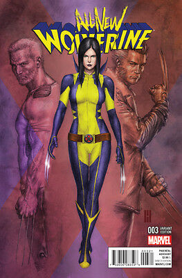 ALL NEW WOLVERINE #3 CHOI VARIANT (MARVEL 2015 1st Print) COMIC