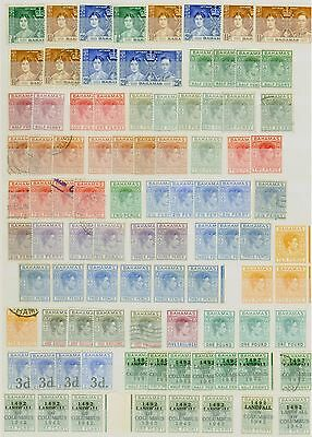 Bahamas KGVI Stamp Collection Fine Mint CV STC £1070 Excellent Value