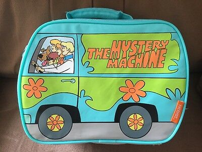 Thermos SCOOBY DOO Mystery Machine Fred Velma Shaggy  Van Soft Sided LUNCH BOX
