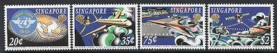 SINGAPORE MNH 1994 SG780-83 50th Anniv International Civil Aviation Organization