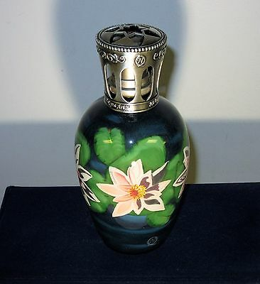 Water Lilies Fragrance Lamp by Ne Qwa Art Paul Brent