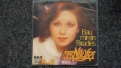 Miss Nilüfer - Bau mir ein Paradis/ Anatol 7'' Single SUNG IN GERMAN