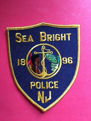 Sea Bright New Jersey  Police Shoulder  Patch