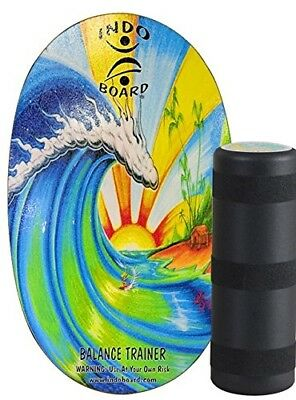 Indo Board Color Graphic w/ Roller Bamboo Beach Short