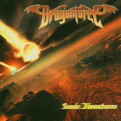 Dragonforce - Sonic Firestorm - Dragonforce CD VAVG The Cheap Fast Free Post The