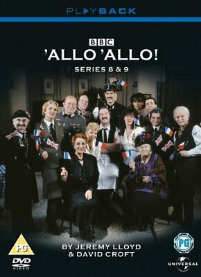 'Allo 'Allo! - Series 8 & 9 [1992] [DVD] - DVD  BEVG The Cheap Fast Free Post