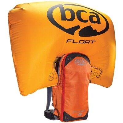 BCA Float 8 Orange Mountain Avalanche Airbag Bag Backpack w/ Cylinder - 7639-065