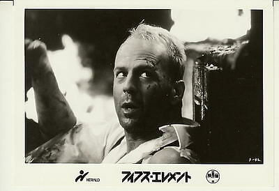 Bruce Willis The Fifth Element * movie photo JP size  *am-38