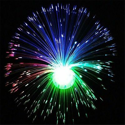 Led Fibre Optic Light  Lamp Changing Fountain Night Relaxing Calming Novelty