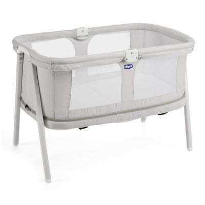 Chicco Lullago Zip Crib (Light Grey) Convertible Baby Crib