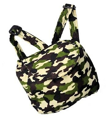 "Teddy Army Bear Camo backpack compatible with fits 15"" Build a Bear"
