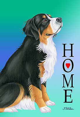 Garden Indoor/Outdoor Home (TP) Flag - Bernese Mountain Dog 620511