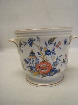 """Crown Staffordshire """"Penang"""" Jardiniere or Flower Pot 4"""" tall VGC"""