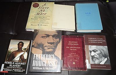 Lot of 7 Slavery  Abolitionist Books