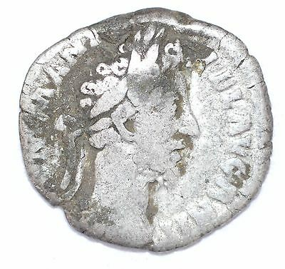 AUTHENTIC COMMODUS ROMAN COIN , AR Silver Denarius -  rev. Liberalitas - A840