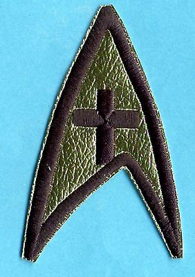 Classic TOS Star Trek Chaplain Embroidered Patch