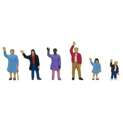 NEW Model Power People Waving (6) O 6182