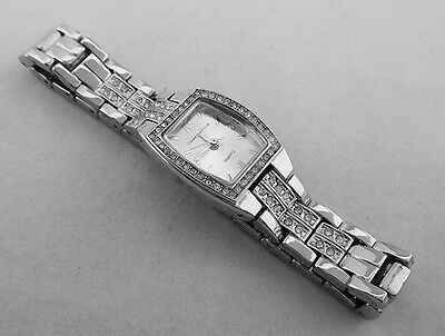 CHARTER CLUB Women's Crystal Bracelet Watch  Msrp $37.50 ** NEW **