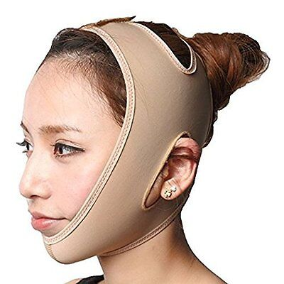 Anti-Wrinkle Compression Chin Strap Perfect for Lifting Double Chin Large