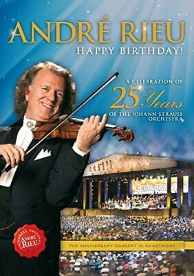 Andre Rieu - Happy Birthday! [DVD] - DVD  SOVG The Cheap Fast Free Post