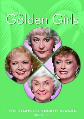 The Golden Girls - Season 4 [DVD] - DVD  1KVG The Cheap Fast Free Post