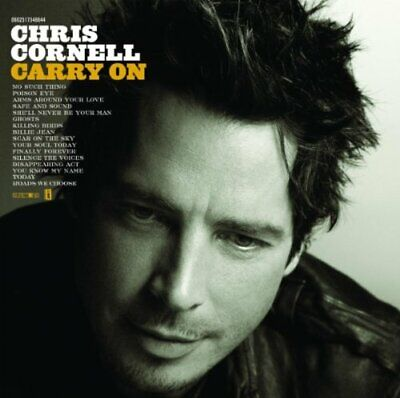 Chris Cornell - Carry On - Chris Cornell CD TQVG The Cheap Fast Free Post The