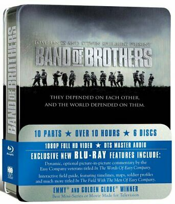 Band Of Brothers - HBO Complete Series [Blu-ray] - DVD  IYVG The Cheap Fast Free