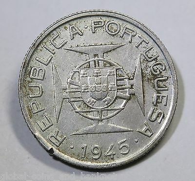 Middle East - 1945 50 Avos - Silver Coin
