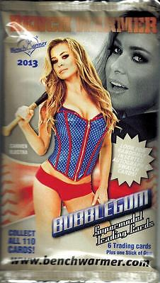 2013 Benchwarmer Bubble Gum Trading Card Pack