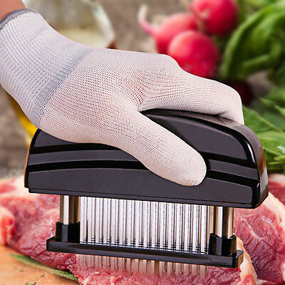 48 Stainless Steel Blade Meat Tenderizer Jaccard Style Knives Steak Chicken Tool