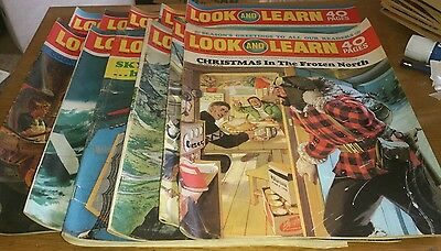 11 Look And Learn, 1970/71, Inc Xmas 1970