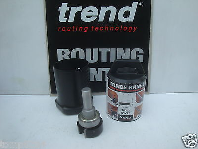 """Trend Trade Range Tr42 X 1/2"""" Tct Intumescent 15Mm X 40Mm Router Cutter Bit"""