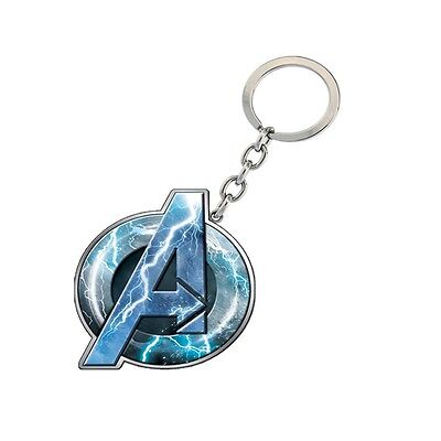 Genuine Marvel Avengers Logo Age Of Ultron 'Thor' Metal Keyring Ideal Gift