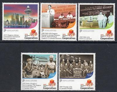 SINGAPORE MNH 2012  United Nations International Year of Cooperatives