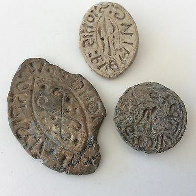 Collection Byzantine  Lead Seal  3 Lot #55