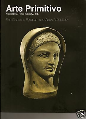ARTE PRIMITIVO Antiquities Greek Egypt Roman LOT of 9 Auction Catalogs
